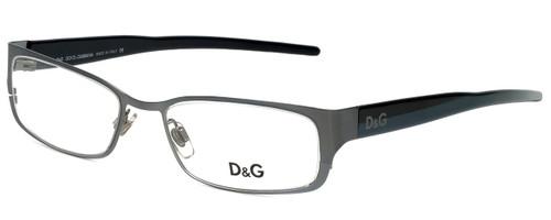 Dolce & Gabbana Designer Eyeglasses DG4123-H18 in Silver Black/Blue 51mm :: Custom Left & Right Lens