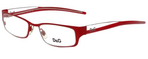Dolce & Gabbana Designer Eyeglasses DG4123-H19 in Red 49mm :: Custom Left & Right Lens