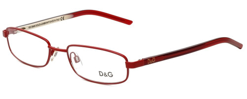 Dolce & Gabbana Designer Eyeglasses DG4152-F44-49 in Red 49mm :: Custom Left & Right Lens