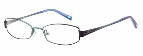Converse Designer Reading Glass Collection Bedlam in Purple Blue :: Rx Single Vision