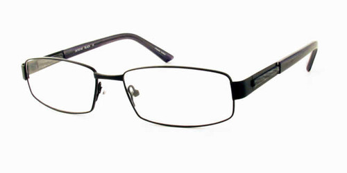 Dale Earnhardt, Jr. Eyeglass Collection 6702 in Satin Black :: Rx Single Vision