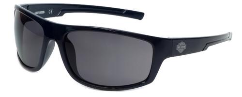 Harley-Davidson Official Designer Sunglasses HD0115V-90A in Blue Frame with Smoke Lens