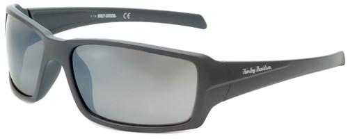 Harley-Davidson Official Designer Sunglasses HD0116V-20A in Grey Frame with Silver Flash Lens