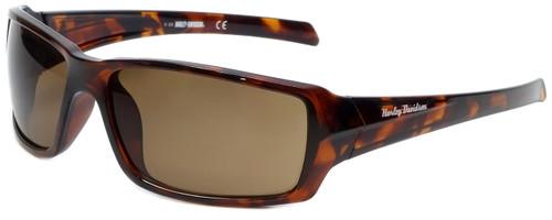 Harley-Davidson Official Designer Sunglasses HD0116V-52E in Havana Frame with Brown Lens