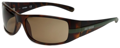Harley-Davidson Official Designer Sunglasses HD0118V-52E in Matte Tortoise Frame with Brown Lens