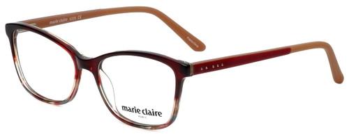 Marie Claire Designer Eyeglasses MC6209-REA in Red Amber 52mm :: Custom Left & Right Lens