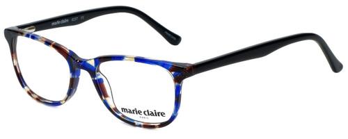 Marie Claire Designer Eyeglasses MC6237-BLB in Blue Black 47mm :: Custom Left & Right Lens