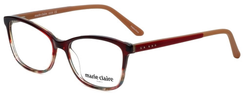 Marie Claire Designer Eyeglasses MC6209-REA in Red Amber 52mm :: Rx Single Vision