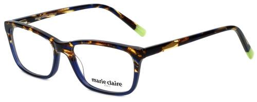 Marie Claire Designer Eyeglasses MC6222-BLT in Blue Tortoise 53mm :: Rx Single Vision
