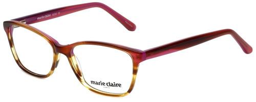 Marie Claire Designer Eyeglasses MC6232-PBR in Purple Brown 53mm :: Rx Bi-Focal