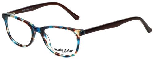 Marie Claire Designer Eyeglasses MC6237-TEB in Teal Brown 47mm :: Rx Bi-Focal