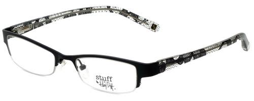 Hilary Duff Designer Eyeglasses HD121077-001 in Black Lace 49mm :: Rx Single Vision