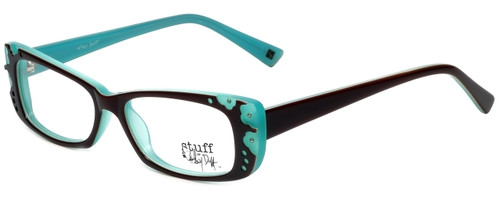 Hilary Duff Designer Reading Glasses HD122372-041 in Brown Blue 50mm