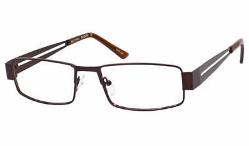 Dale Earnhardt, Jr. Eyeglass Collection 6796 in Brown :: Rx Single Vision