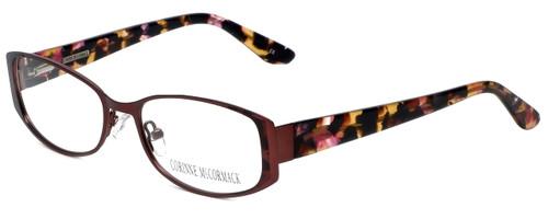 Corinne McCormack Designer Eyeglasses Murray-ROS in Rose 52mm :: Custom Left & Right Lens