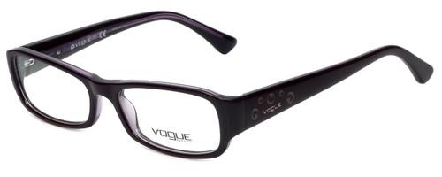 Vogue Designer Eyeglasses VO2758-1887 in Purple Crystal 50mm :: Custom Left & Right Lens
