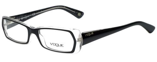 Vogue Designer Eyeglasses VO2691-1688 in Glitter Black Clear 51mm :: Progressive