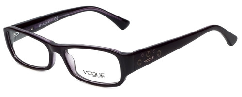 Vogue Designer Eyeglasses VO2758-1887 in Purple Crystal 50mm :: Rx Bi-Focal