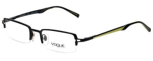 Vogue Designer Eyeglasses VO3581-352-50 in Black Yellow 50mm :: Custom Left & Right Lens