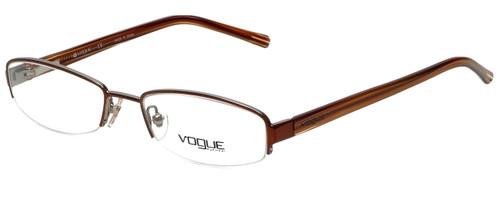 Vogue Designer Eyeglasses VO3602-775 in Brown 51mm :: Custom Left & Right Lens