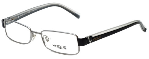 Vogue Designer Eyeglasses VO3644-831 in Silver Metallic 52mm :: Custom Left & Right Lens