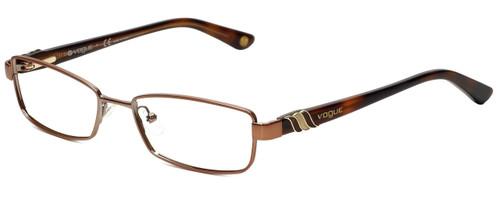Vogue Designer Eyeglasses VO3749-813-52 in Brown 52mm :: Custom Left & Right Lens