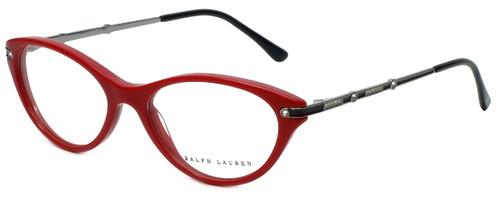 Ralph Lauren Designer Eyeglasses RL6099B-5310 in Red 51mm :: Custom Left & Right Lens
