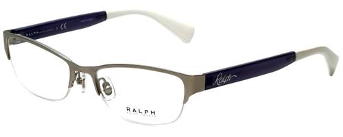 Ralph Lauren Designer Reading Glasses RA6042-170 in Matte Silver 52mm
