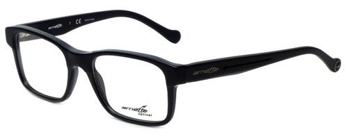 Arnette Designer Eyeglasses Cross Fade7087-1165 in Black 51mm :: Progressive