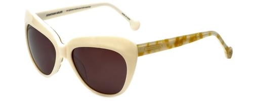 Jonathan Adler Designer Sunglasses St. Tropez in Cream