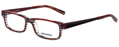 Converse Designer Eyeglasses City-Limits-Red-Stripe in Red Stripe 51mm :: Rx Single Vision