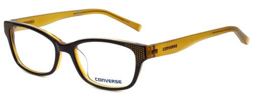 Converse Designer Eyeglasses Q011-Brown in Brown 50mm :: Progressive