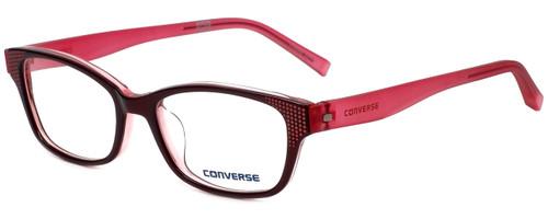 Converse Designer Eyeglasses Q011-Burgundy in Burgundy 50mm :: Progressive