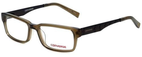 Converse Designer Eyeglasses Yikes-Olive in Olive 50mm :: Progressive