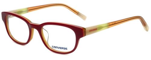 Converse Designer Eyeglasses Q005-Red in Red 48mm :: Rx Bi-Focal