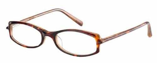 Jones NY Designer Eyeglasses J203 in Tortoise :: Rx Single Vision