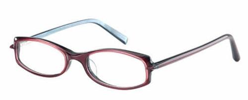 Jones NY Designer Eyeglasses J203 in Violet Pearl :: Rx Single Vision