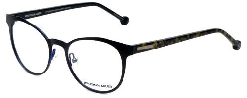 Jonathan Adler Designer Eyeglasses JA105-Black in Black 51mm :: Rx Bi-Focal
