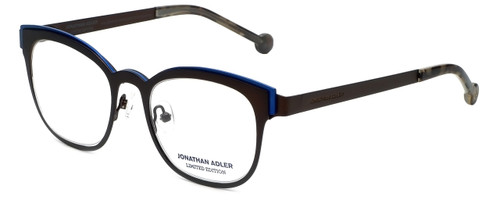 Jonathan Adler Designer Eyeglasses JA107-Brown in Brown 49mm :: Rx Bi-Focal