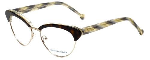 Jonathan Adler Designer Eyeglasses JA108-Tortoise in Dark Tortoise 53mm :: Rx Bi-Focal