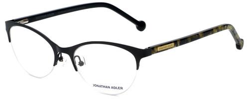 Jonathan Adler Designer Eyeglasses JA503-Black in Black 53mm :: Rx Bi-Focal