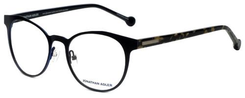 Jonathan Adler Designer Eyeglasses JA506-Black in Black 51mm :: Rx Bi-Focal