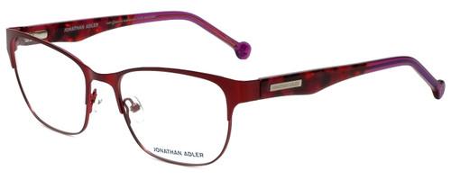Jonathan Adler Designer Reading Glasses JA102-Red in Red 55mm
