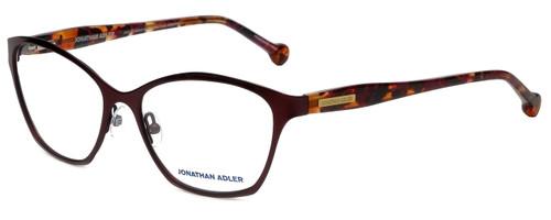 Jonathan Adler Designer Reading Glasses JA103-Bur in Burgundy 53mm
