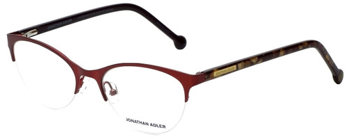 Jonathan Adler Designer Reading Glasses JA104-Red in Red 53mm