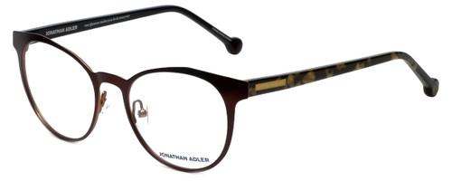 Jonathan Adler Designer Reading Glasses JA105-Brown in Brown 51mm