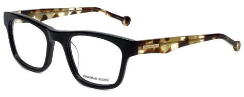 Jonathan Adler Designer Eyeglasses JA300-Black in Black 53mm :: Rx Bi-Focal