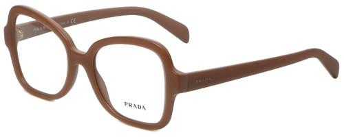 Prada Designer Eyeglasses VPR25S-UFF1O1 in Matte Pink 51mm :: Rx Single Vision