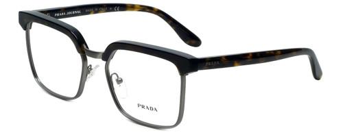 Prada Designer Eyeglasses VPR15S-HAQ1O1 in Havana 54mm :: Rx Single Vision