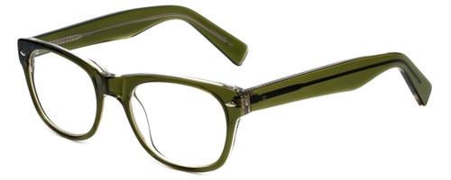 Eyefly Designer Eyeglasses Mensah-Jomo-Street in Olive 50mm :: Rx Single Vision